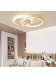 led dimmbare deckenleuchte moderne wohnzimmer le ring