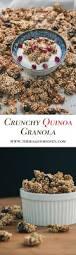 Pumpkin Flaxseed Granola Nutrition by Best 25 Quinoa Granola Bars Ideas On Pinterest Quinoa Seeds