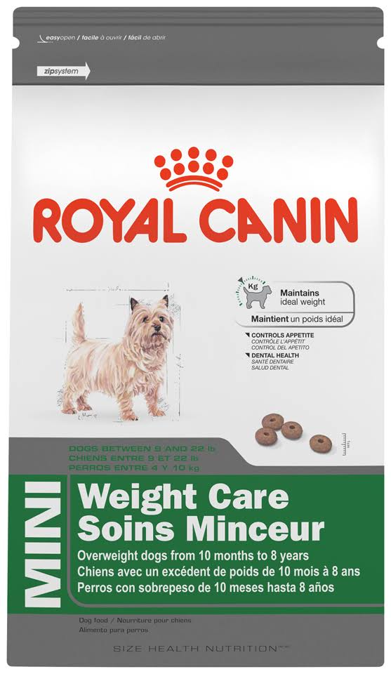 Royal Canin Mini Weight Care Dog Food - 2.5lbs