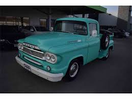 1960 Dodge D100 For Sale | ClassicCars.com | CC-956421 Dodge Pickup Truck 1960 Stock Photos D100 Hot Rod Network Dw Classics For Sale On Autotrader Junkyard Find D200 With Genuine Flathead Power Stepside T40 Anaheim 2016 Sale 1934338 Hemmings Motor News Robsd100 100 Specs Modification Info At D700 Weight Classic Deals 2009 Ppg Nationals Suburban Desotofargo Driving Around My Area Sunday 71810 57 Truck Httpwwwjopyjournalcomforumthreads481960