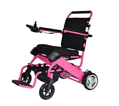 motorized electric wheelchair pink intellichair motorized