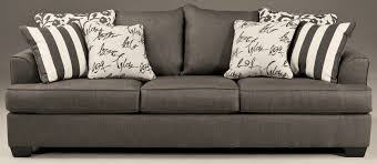levon charcoal stationary sofa from ashley 7340338 coleman