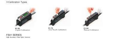 Keyence Light Curtain Manual Pdf by Manual Calibration Fiberoptic Sensor Fs V T M Series Fs01