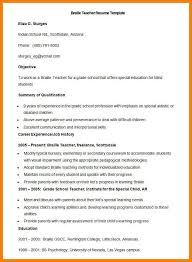 6 Fresher Teacher Resume Format Pdf