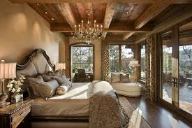 Window Treatments French Doors Bedroom Rustic With Seating Crystal