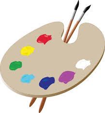745x800 Artist Paint Palette Clipart