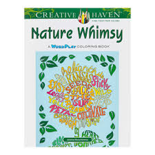 Nature Whimsy Coloring Book