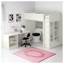 Bunk Bed With Desk Ikea Uk by Stuva Loft Bed Combo W 2 Shlvs 3 Shlvs White 207x99x193 Cm Ikea