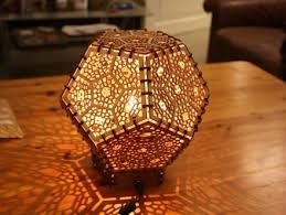 Laser Cut Lamp Shade by Learning Labs Newboco