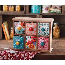 Babies R Us Dresser Knobs by The Pioneer Woman Flea Market 6 Drawer Spice Tea Box Walmart Com