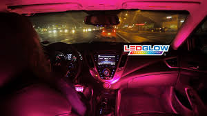 LEDGlow's Pink Expandable SMD LED Interior Kit - YouTube