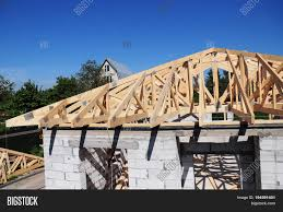 100 House Trusses Roof Roofing Image Photo Free Trial Bigstock