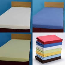 Jersey fitted bed sheets Hotellitarbed