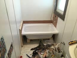 Bathtub Drain Leaking Under House by Plumbing Leak New Tub Install U2013 Choo Choo Tiny House