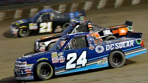 100 Truck Series NASCAR Results At Eldora Kyle Larson Overcomes Tire
