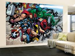 Superhero Room Decor Uk son of marvel reading chronology cover thor wall murals thor