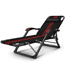 LJ Adjustable ReclinerPortable Chaise Lounges Folding Chairs Bed Pool Deck Patio Lounger Chair