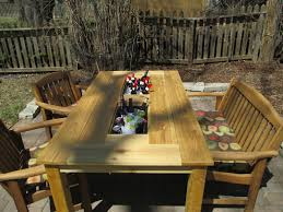 KRUSE'S WORKSHOP: Patio Party Table With Built In Beer/Wine Ice ... Patio Cooler Stand Project 2 Patios Cabin And Lakes 11 Best Beverage Coolers For Summer 2017 Reviews Of Large Kruses Workshop Party Table With Built In Beerwine Ice How To Build A Wood Deck Fox Hollow Cottage Diy Your Backyard Wheelbarrow Foil Smoker Outdoor Decorations Beer Wooden Plans Home Decoration 25 Unique Cooler Ideas On Pinterest Diy Chest Man Cave Backyard Our Preppy Lounge Area Thoughtful Place
