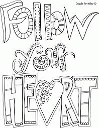 All Quotes Coloring Pages Doodle Art Alley