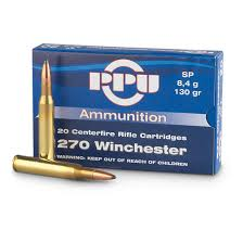 PPU, .270 Winchester, SP, 130 Grain, 20 Rounds - 222322, .270 ... 7mm Remington Magnum Wikipedia Barnes Bullets Clark Armory Premium 243 Ammo For Sale 85 Grain Tsx Hp Ammunition In 68 Spc Bullet Performance Archive Home Of The 308 150 Grain Federal Vital Shok Rifle 20 Ttsx Mrx Youtube Review Vortx Copper Hunting Big Deer Ppu 270 Winchester Sp 130 Rounds 2322 The 12 Best Cartridges For Elk Field Stream Marlin Xl7 Win 500 Yard Test Round