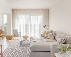 Living Room Curtain Ideas Beige Furniture by Sheer Floor To Ceiling Living Room Curtains Ideas U0026 Photos Houzz