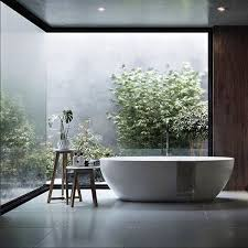 20 modern master bathrooms connected to nature minimal