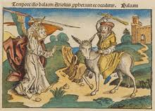 Balaam And The Angel Nuremberg Chronicle 1493