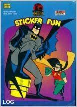 Batman SubZero On Thin Ice Coloring Book