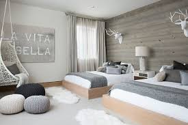 Scandinavian Bedroom Designs With Grey As The Main Color