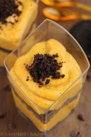 Pumpkin Mousse And Ginger Parfait by Oreo U0026 Pumpkin Pudding Parfaits Amy U0027s Healthy Baking