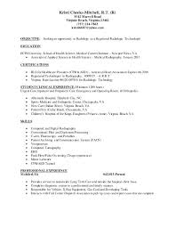 Sample Resume For Radiologic Technologist Best Ideas About Job Examples On My Diamond Engineering Services Radiology Technician