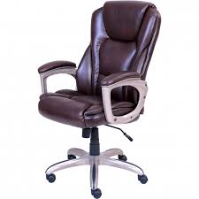 Fosner High Back Chair by Big And Tall Office Chair 500 Lbs Capacity For Desks Heavy Duty
