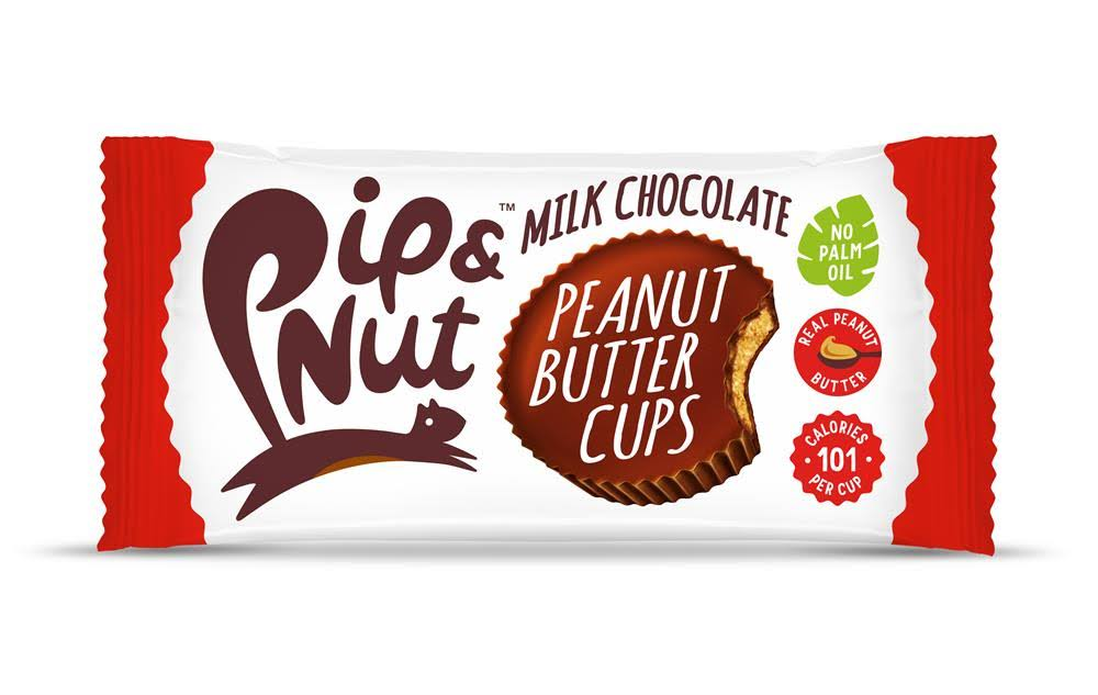 Pip and Nut Milk Choc Peanut Butter Cups 34G