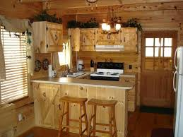 small cabin kitchen pinteres