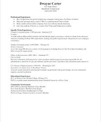 Resume Examples Career Highlights With