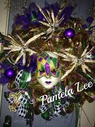 Mardi Gras Mask Door Decoration by 345 Best Mardi Gras Wreaths Images On Pinterest Mardi Gras