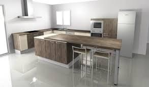 ilot cuisine ilot cuisine avec table ilot central de cuisine 10 inspirations 5