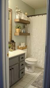 modern farmhouse inspired bathroom makeover one room one