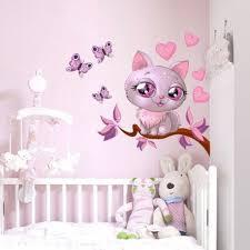 sticker chambre bébé fille exquisit stickers chambre fille haus design