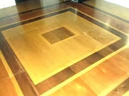 Plywood Flooring Stainless Steel Laminate With Finished Edge Custom Made I Plank