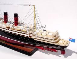 model ship rms lusitania