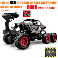 FEO RC OFF ROAD CRAWLER TRUCK 1:12 SCALE 4WD ALLOY BODY MONSTER ...