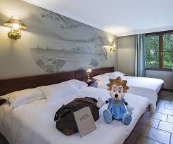 hotel et dans la chambre the hotel at nigloland amusement park