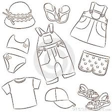 White Dress Clipart Summer Clothes 8
