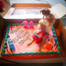 Pin By Lisa Secard On 21st Birthday Pinterest Drunk Barbie Cake