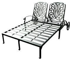 walmart outdoor lounge chair cushions chaise chairs metal rod iron