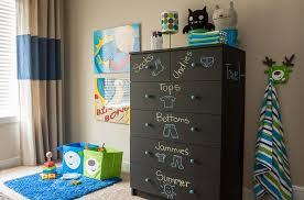 View In Gallery Furniture With Chalk Paint Is A Fun And Flexible Addition To The Kids Room