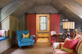 Barn Doors Bring Color And Creativity To The Small Space Design Our Town Plans