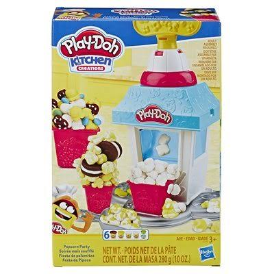 Hasbro Play-Doh Kitchen Creations Popcorn Party Play Food Playset