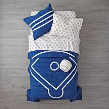 Vintage Baseball Crib Bedding by Boys Bedding The Land Of Nod